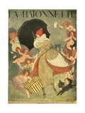 Christmas Shopping 1919 Giclee Print by Gerda Wegener
