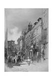 Gerrard Street, London, 1901 Giclee Print by Herbert Railton