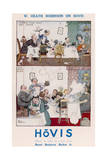 Heath Robinson Hovis Advertisement Giclee Print by Heath Robinson