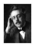 Frank Bridge, English Composer and Violist Giclee Print by Herbert Lambert