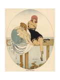 Bathing Beauties 1916 Premium Giclee Print by Gerda Wegener