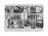 London Fire Brigade's Organisation and Equipment Giclee Print by George Horace Davis