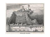 Gresham College 1834 Giclee Print by I Dodd
