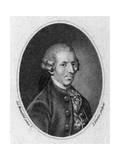 Joseph Haydn Premium Giclee Print by J Newton