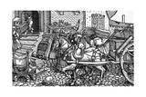 C16 Marriage Dowry Giclee Print by Hans Burgkmair