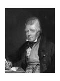 Sir Walter Scott Premium Giclee Print by JP Knight