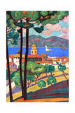 Saint Tropez, France Giclee Print by Guillaume Roger