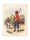 1st Madras Pioneers Premium Giclee Print by H. Bunnett