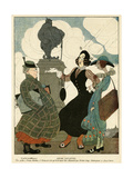 German Women as Seen by the French Giclee Print by Gerda Wegener