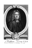 Matthew Henry Giclee Print by George Vertue