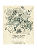 Come with a Romp with Neptune! Giclee Print by Harry Furniss