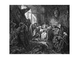 Sleeping Beauty Premium Giclee Print by Gustave Doré