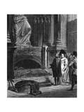 Raffaello's Remains Giclee Print by Horace Vernet