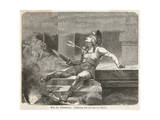 Alcibiades Assassinated Premium Giclee Print by Hermann Vogel