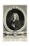 John Flamsteed Giclee Print by George Vertue