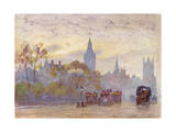 London, Whitehall, 1905 Giclee Print by Herbert Marshall