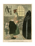 Nuremberg Torture 1917 Giclee Print by Gerda Wegener
