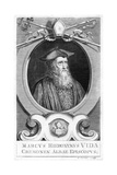 Hieronymus Vida Giclee Print by George Vertue