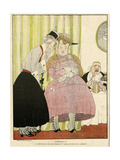 Historical Illustration Giclee Print by Gerda Wegener