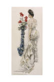 Female Type, Lacy Dress Giclee Print by Howard Chandler Christy