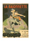 Dancing to Victory 1918 Giclee Print by Georges Leonnec