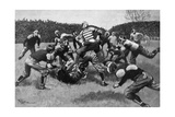 US Football Match 1903 Giclee Print by Georges Scott