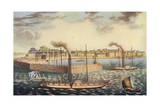London to Margate 1821 Giclee Print by J Hudson
