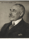 Edward Elgar Photographic Print by Herbert Lambert