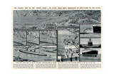 Queen Mary' Ocean Liner, Journey Down the Clyde Giclee Print by George Horace Davis