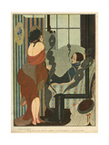 Aesthetic Couple 1919 Giclee Print by Gerda Wegener