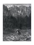 Wandering Jew at Ford Giclee Print by Gustave Doré