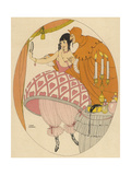 Tempted Lady Giclee Print by Gerda Wegener