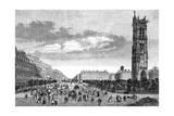 Paris, France - Boulevard Sebastopol Giclee Print by H. Linton