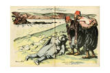 WWI Giclee Print by Hermann Paul
