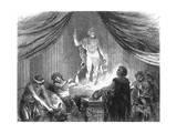 Romans Sacrifice Ox Giclée-Druck von Hermann Vogel