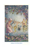 Joining in the Fairy Revel Giclee Print by Hilda T. Miller