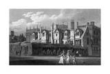 Trinity College, Oxford Giclee Print by J and HS Storer