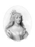 Mary Countess Buchan Premium Giclee Print by Isaac Oliver