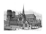 Paris, France - Notre-Dame Gicléedruk