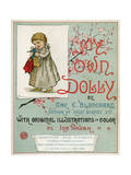 Title Page of 'My Own Dolly' Giclee Print by Ida Waugh