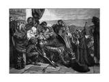 Death of Siward, Earl of Northumberland Giclee Print