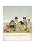 Dollies Wedding Premium Giclee Print by Ida Waugh