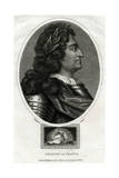Louis XIV - King of France Giclee Print by J Chapman