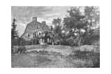 Rw Emerson, Old Manse Giclee Print by Homer Martin