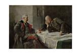 Hindenburg and Ludendorff Giclée-Druck von Hugo Vogel