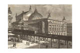 Paris, Railway Project Giclee Print by Hubert Clerget