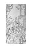 Sabbat Coupling Giclee Print by Henry De Malvost