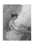 Adele Aus Der Ohe Giclee Print by Henry Sandham