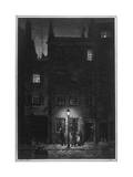 Dorian Gray Walking Home Premium Giclee Print by Henry Keen