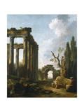 Le Jardin D'Hercule Giclee Print by Hubert Robert